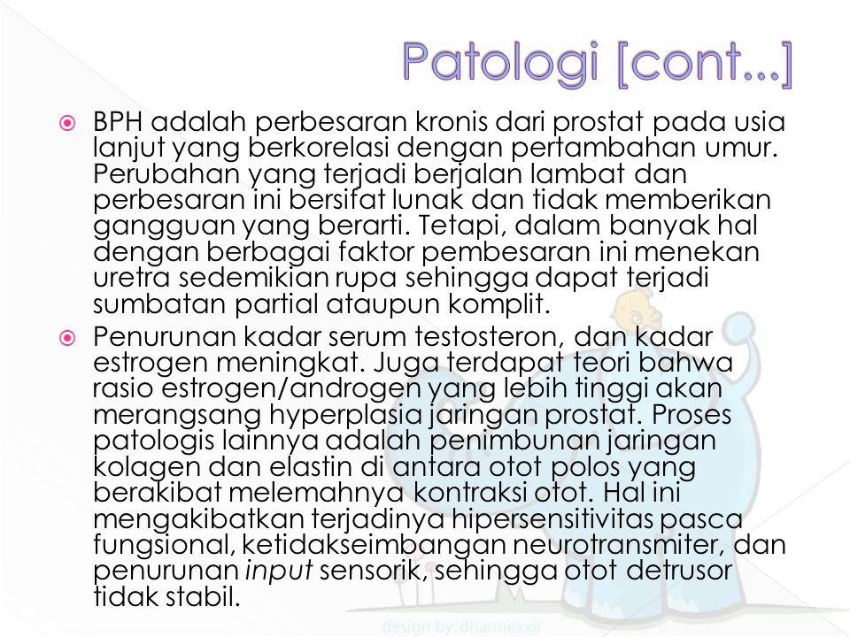 Patologi [cont...]